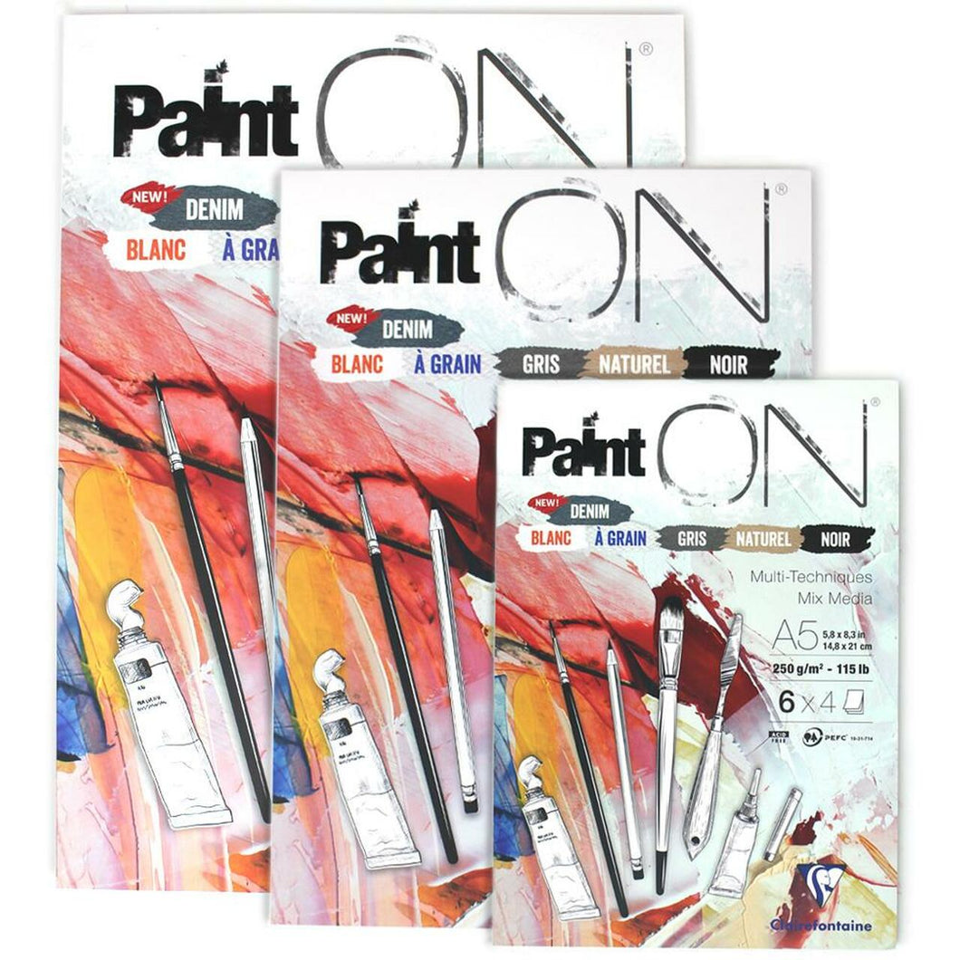 Clairefontaine Paint'ON Sketch Pad // Mix 6 Color