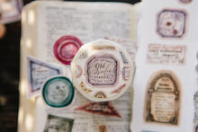 Load image into Gallery viewer, OURS Washi Tape // Old Labels