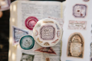 OURS Washi Tape // Old Labels