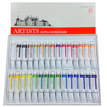 Load image into Gallery viewer, Alpha Artists Watercolors // 30 tubes
