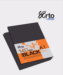 Arto A4 Black Card / 140GSM