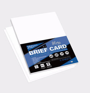 Arto A4 Brief Card / 250GSM