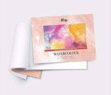 Arto x Fabriano Watercolor Pad 25% Cotton A4 Hot Pressed 300gsm