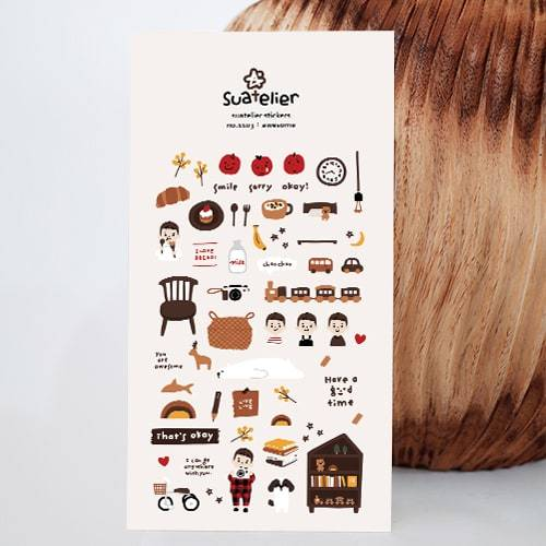 Suatelier Stickers | Awesome