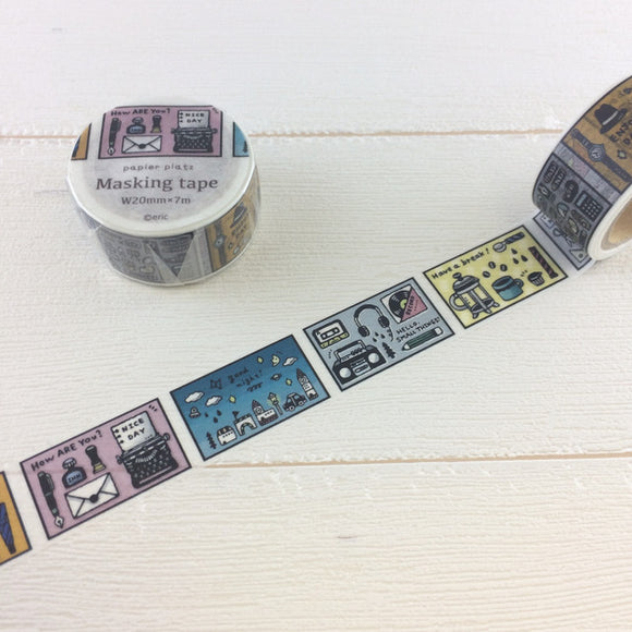 eric small things - Days Washi Tape