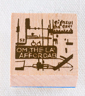 Chamilgarden Rubber Stamp Vol.2 Cafe C-1
