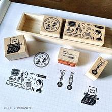 Load image into Gallery viewer, eric - Stationery Rubber Stamp Set