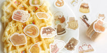 Load image into Gallery viewer, BGM Flake Stickers | Pudding Dog