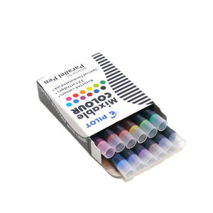 Pilot Parallel Ink Cartridges // Mixable Colours