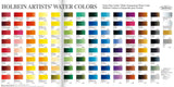 Holbein Artist's Watercolors in 5ml Tube (18)