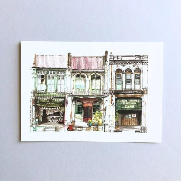 Penang Shophouse Postcard // PC03