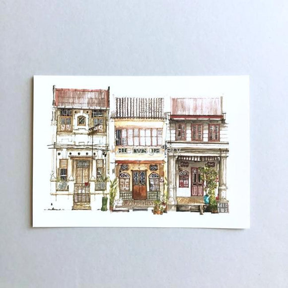 Penang Shophouse Postcard // PC04