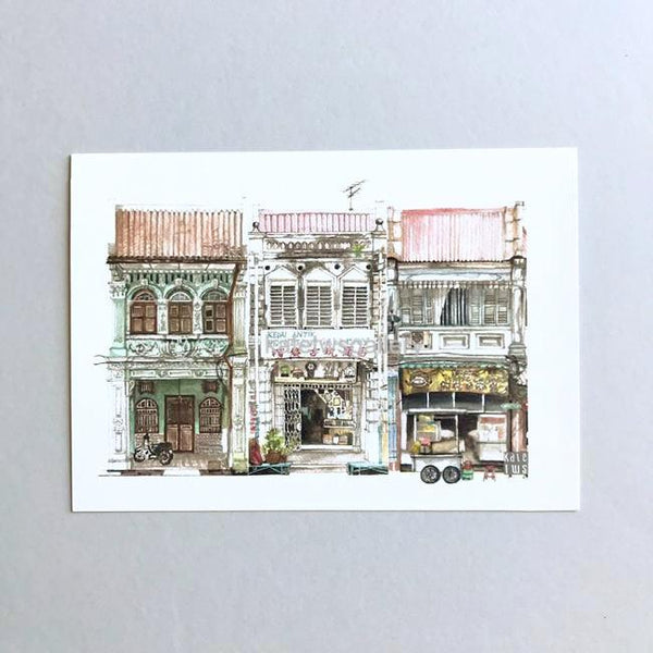 Penang Shophouse Postcard // PC05