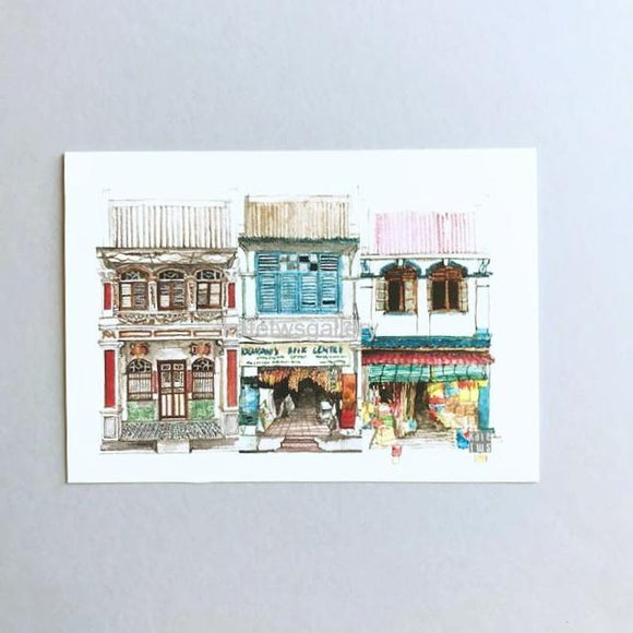 Penang Shophouse Postcard // PC07