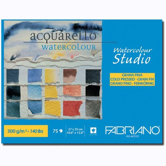 Jumbo Watercolour Studio Watercolor Block 25% Cotton // Cold Press (300GSM)
