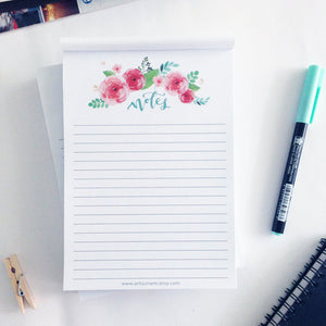 Artsunami Notepad Planner Organisation Stationery // 50 sheets