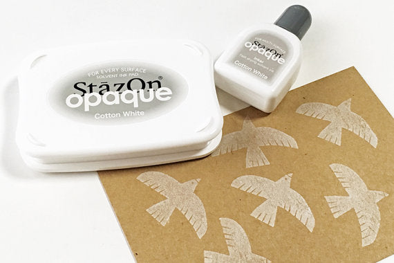 StazOn Opaque - Cotton White