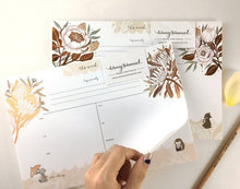 Load image into Gallery viewer, Whimsy Whimsical Weekly Planner - Bear, Fox & David Austin Rose
