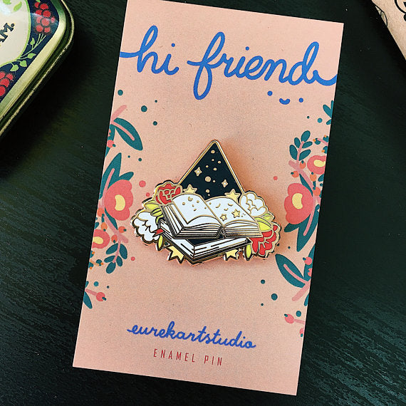 Portable Magic Enamel Pin