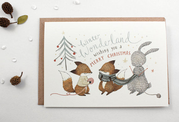Christmas Greeting Card - Winter Wonderland