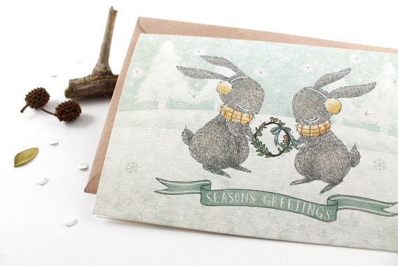 Christmas Greeting Card - Season's Greetings