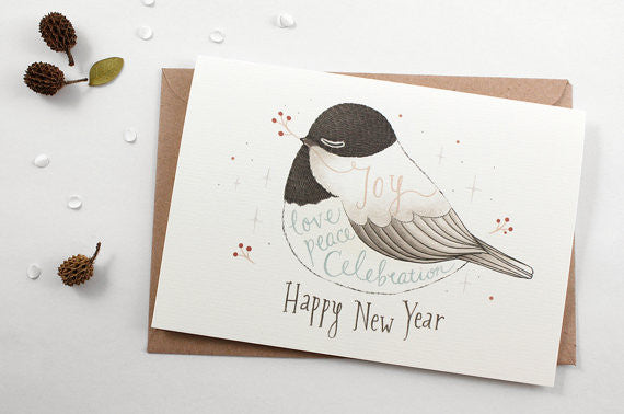 Christmas Greeting Card - Happy New Year