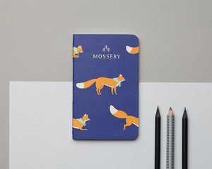 Mossery Jumping Foxes Pocket Notebook