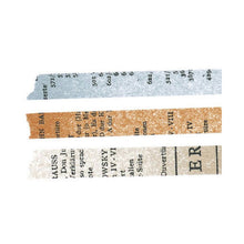 Load image into Gallery viewer, Classiky Washi Tape // Old Books Set (10mm)