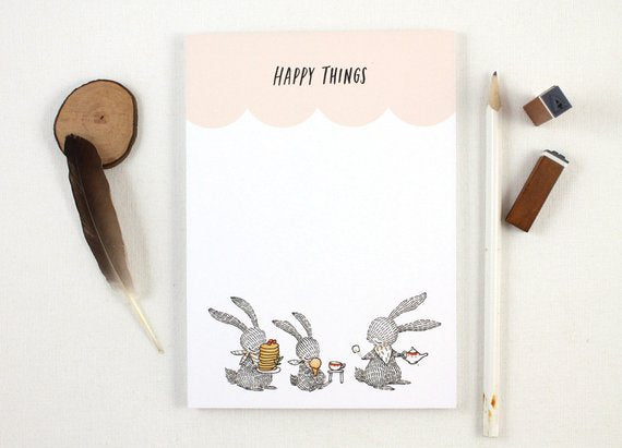 Whimsy Whimsical Notepad 7 | Happy Things