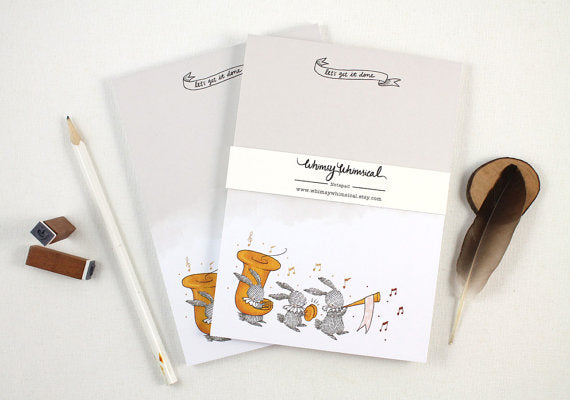 Whimsy Whimsical Notepad 8 | Let's Get It Done