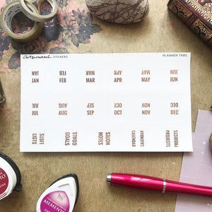 Artsunami Mini Foiled Planner Tab Sticker