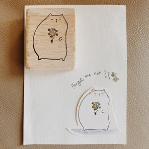 Catdoo Rubber Stamp // Forget Me Not