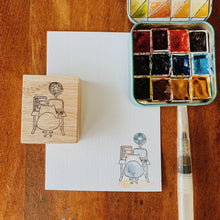 Load image into Gallery viewer, Catdoo Rubber Stamp // Work Desk