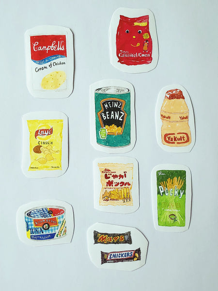 Snack & Canned Food Series I