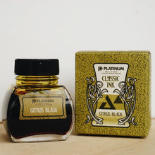 Load image into Gallery viewer, Platinum Classic Pigment Ink in Citrus Black // 60ml