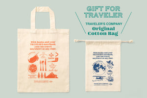 TRAVELER'S Company Christmas Gift Tote Bag