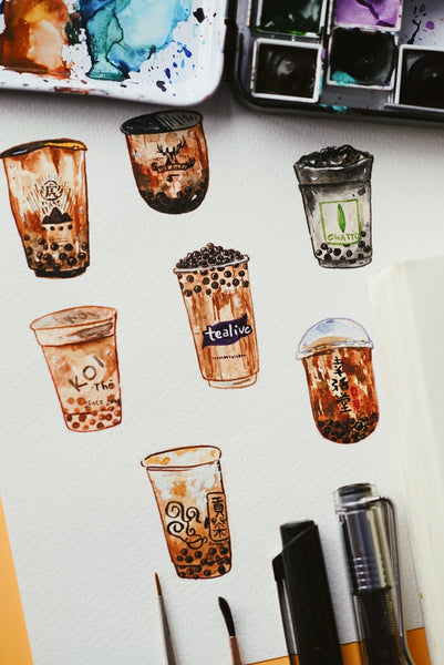 Boba is Life Stickers
