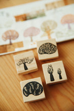 Load image into Gallery viewer, Nove Secret Forest Series Rubber Stamps / Set B