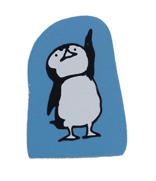 Kodomo No Kao | Penguin Pointing Up Rubber Stamp