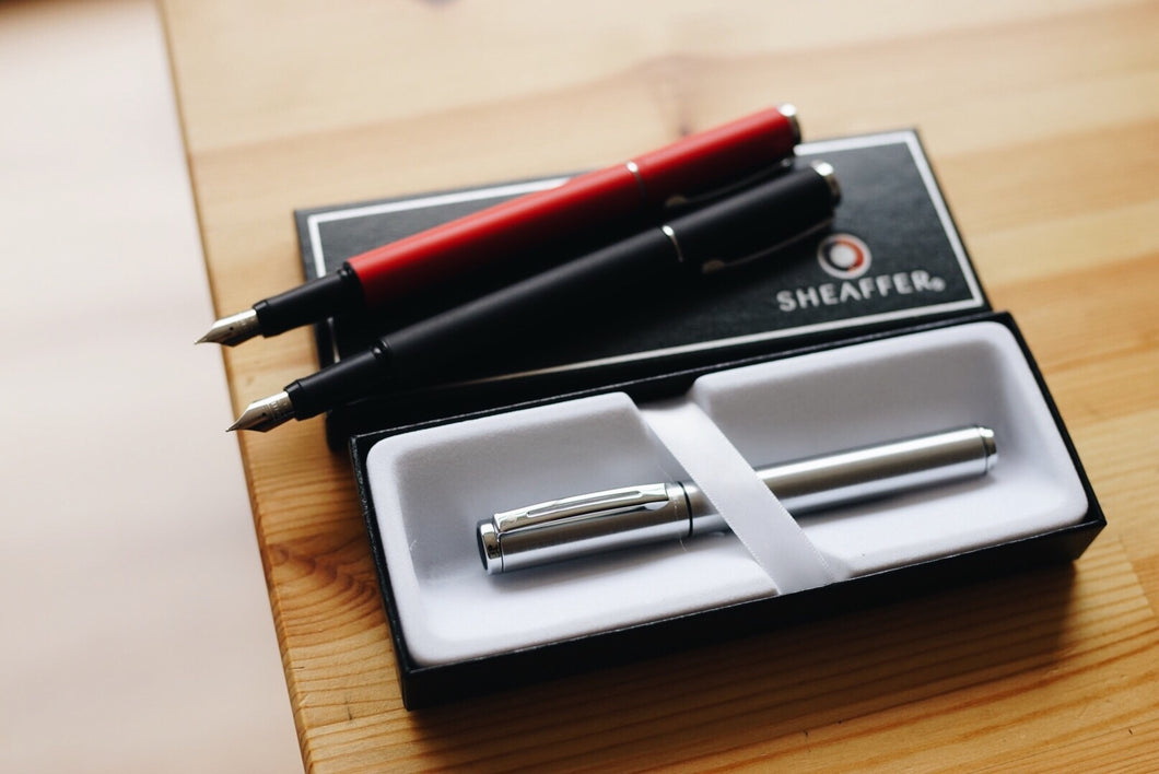 Sheaffer Pop Fountain Pen / Silver