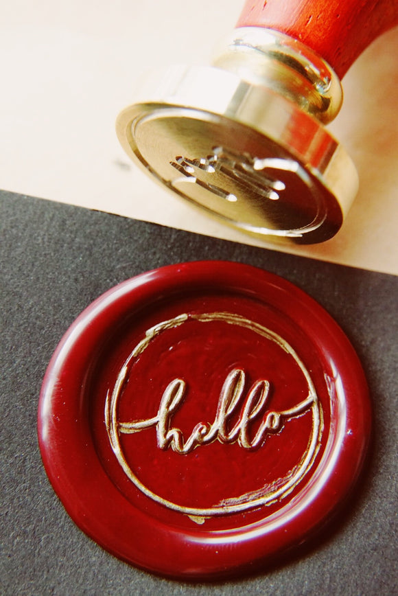 Hello Wax Seal