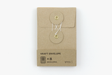 1 KRAFT ENVELOPE with String (S) Brown