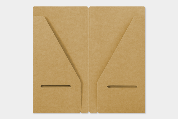 TRAVELER'S Notebook 020 Kraft File Insert // Regular