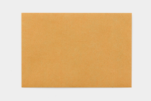 KRAFT ENVELOPE with String (M) // Orange