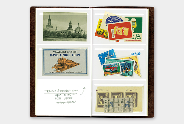 TRAVELER'S Company 023 Film Pocket Seal Stickers