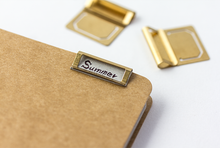 Load image into Gallery viewer, Traveler's Company Brass Index Clips  - Stickerrific