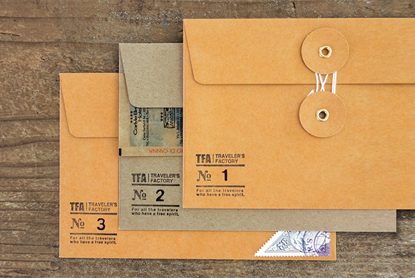 KRAFT ENVELOPE with String (M) // Brown