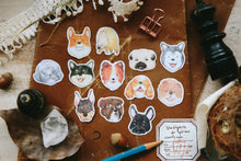 Load image into Gallery viewer, OURS Flake Sticker // Dogs Party
