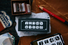 Load image into Gallery viewer, OURS DIY Rubber Stamp Set // Number