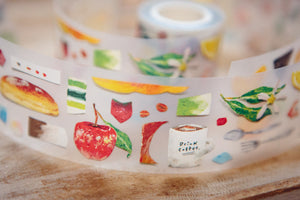 OURS PET Tape // Paper Craft Eat Something